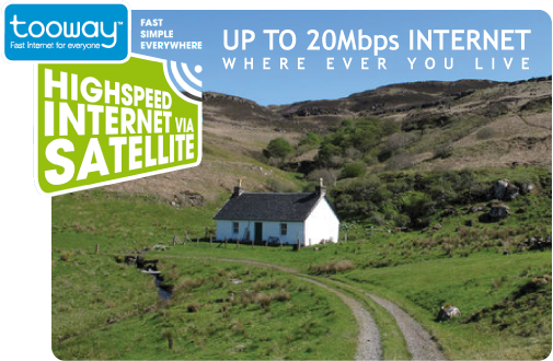 Tooway Broadband for the home
